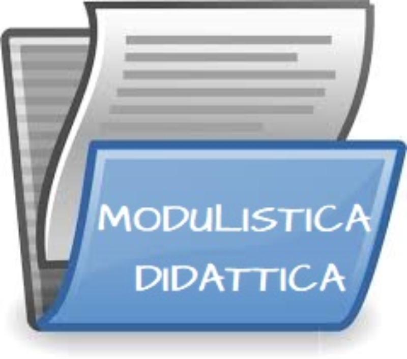 MODULISTICA DIDATTICA